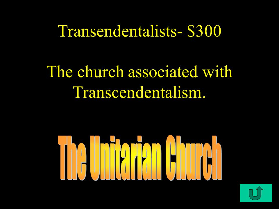 C2-$200 Transcendentalist- $200 One of the leading Transcendentalist writers.