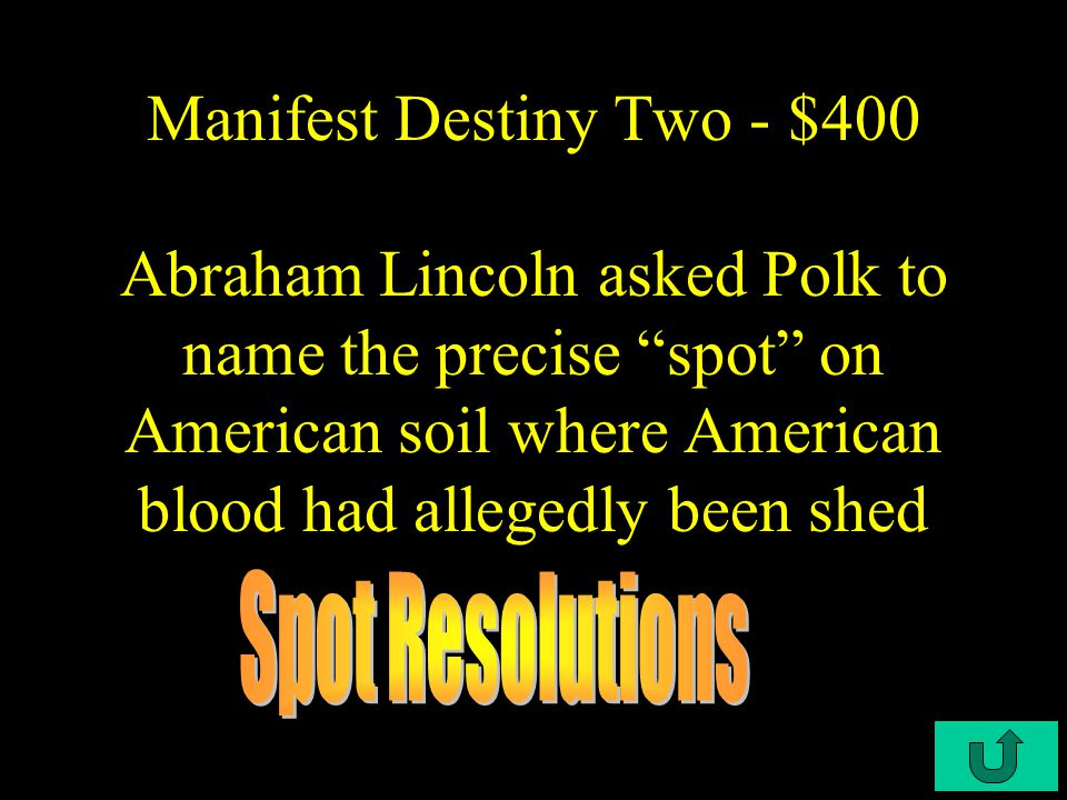 C4-$300 Manifest Destiny Two - $300 He started the Church of Jesus Christ and Latter Day Saints