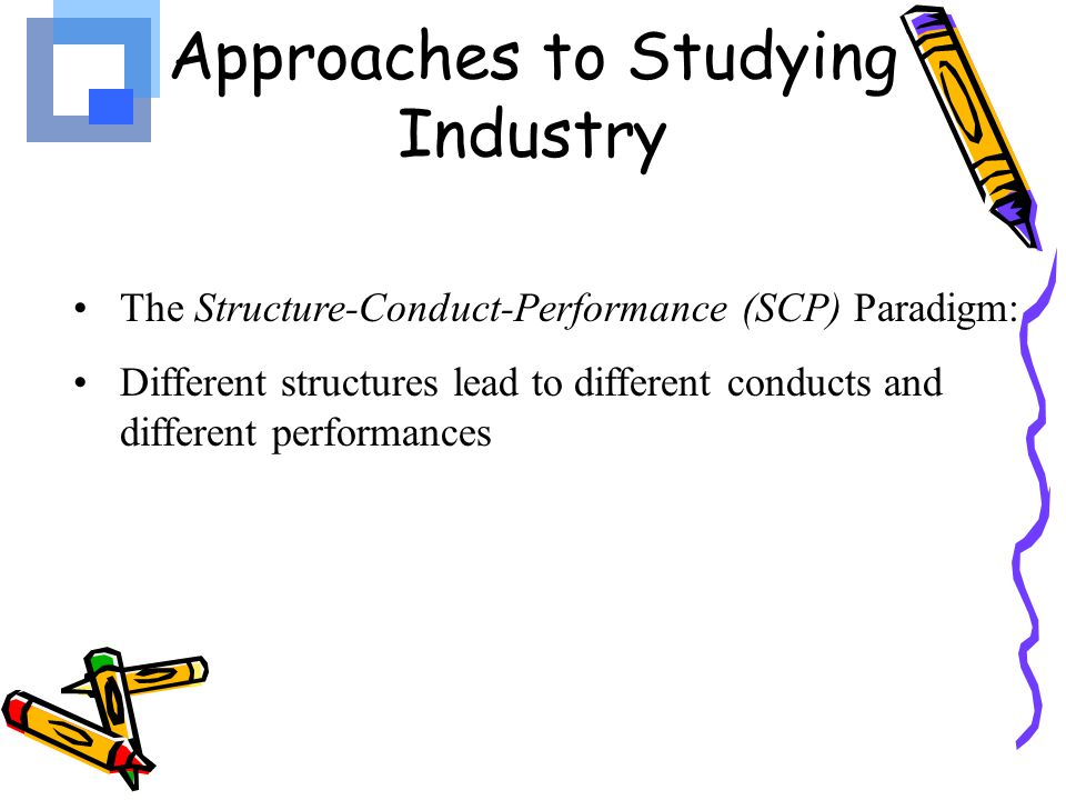 Market Structure Refers to factors such as 1.The number of firms that compete in a market, 2.The relative size of the firm (concentration) 3.Technological and cost conditions 4.Ease of entry or exit into industry Different industries have different structures that affect managerial decision making (Structural differences)