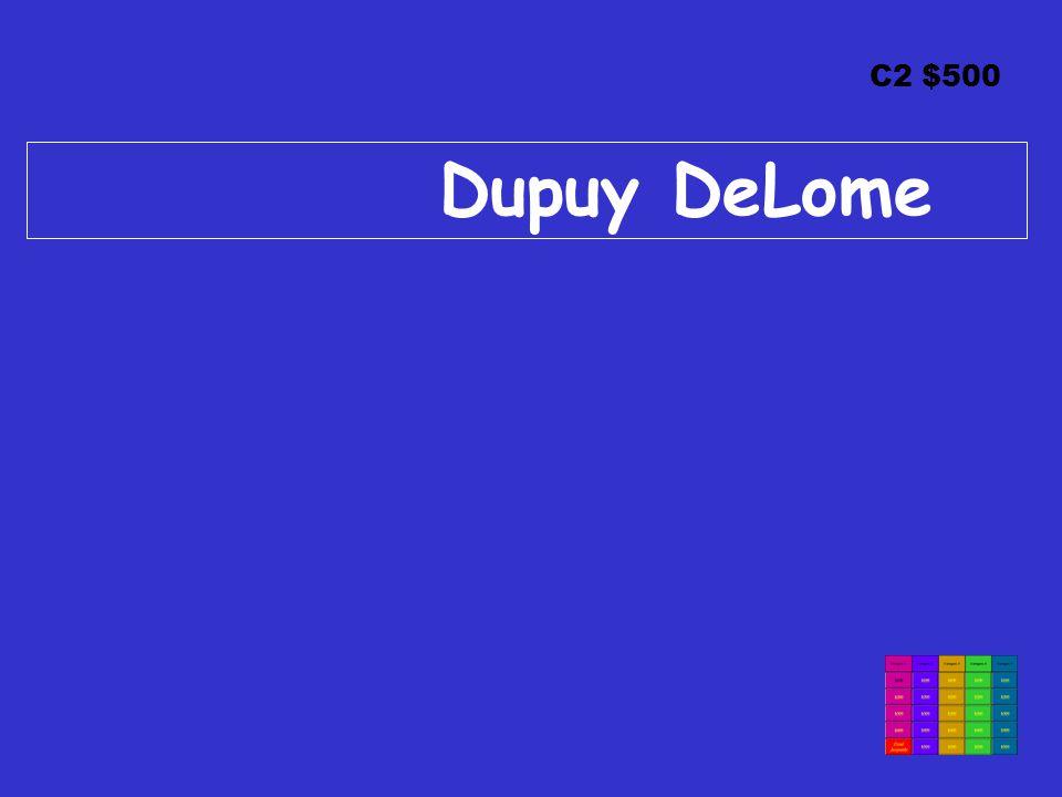 C2 $500 Dupuy DeLome