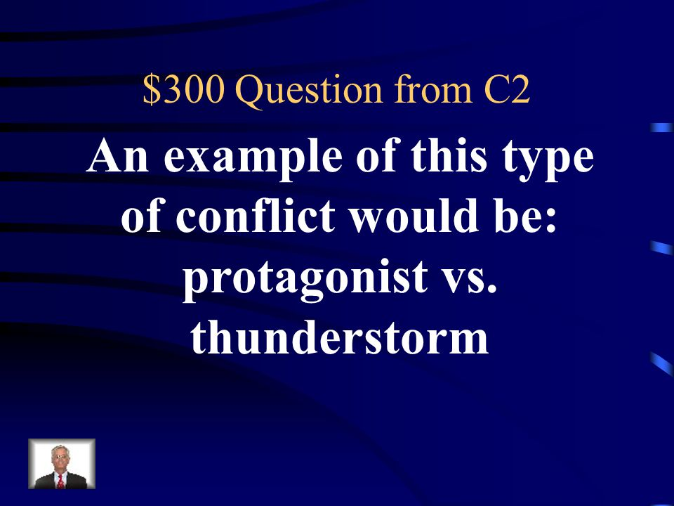 $200 Answer from C2 Man vs. Man