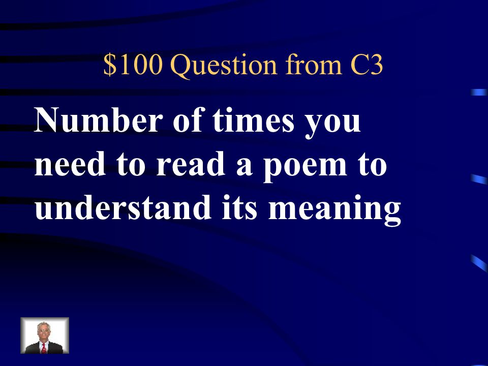 $500 Answer from C2 Antagonist