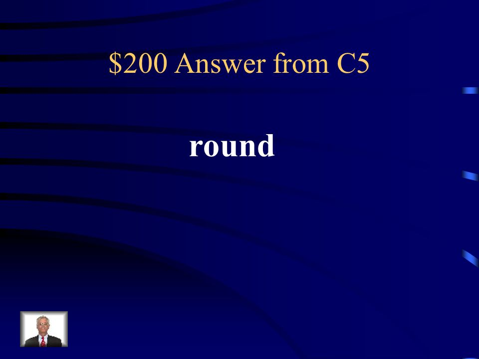 $200 Question from C5 This type of character has a lot of personality.