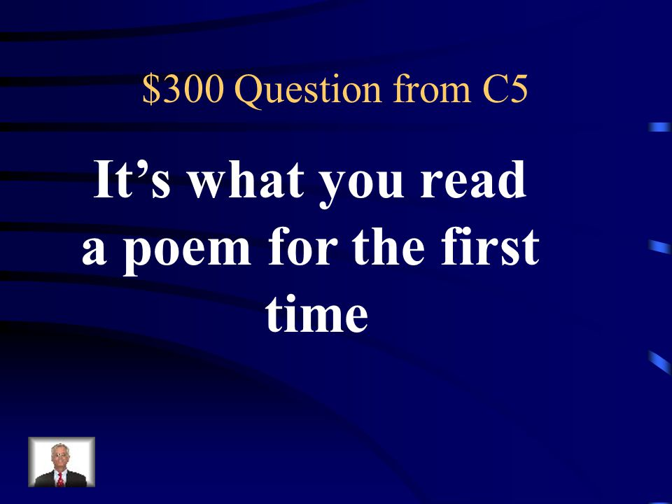$200 Answer from C5 round