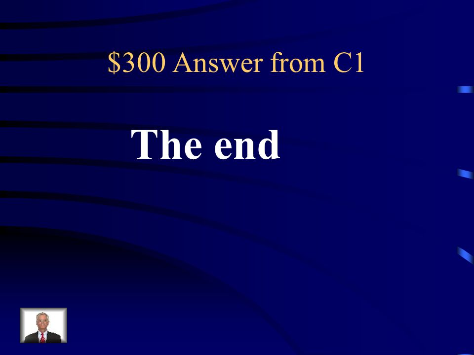 $300 Question from C1 The resolution is here in the story