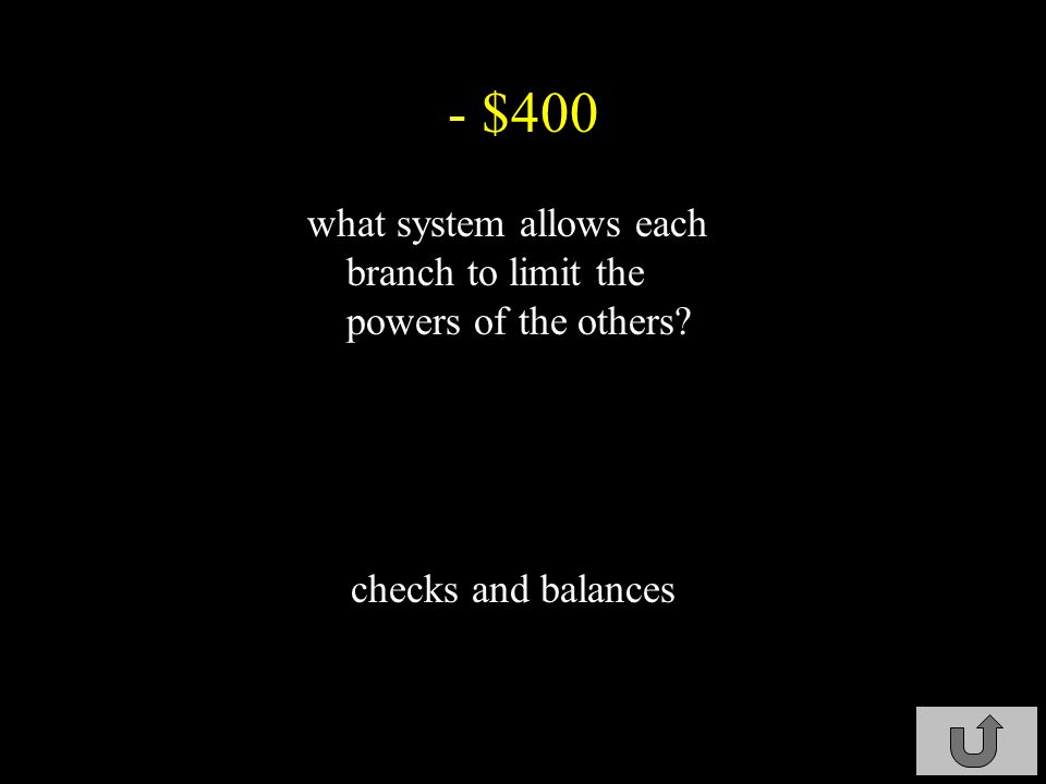 - $300 through what method does the Court check on Congress judicial review C4-$300