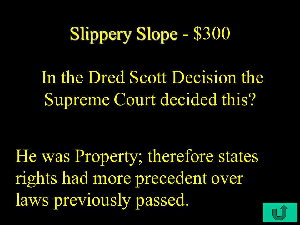 C4-$200 Slippery Slope Slippery Slope - $200 This is known as the opening paper-gun blast of the Civil War.