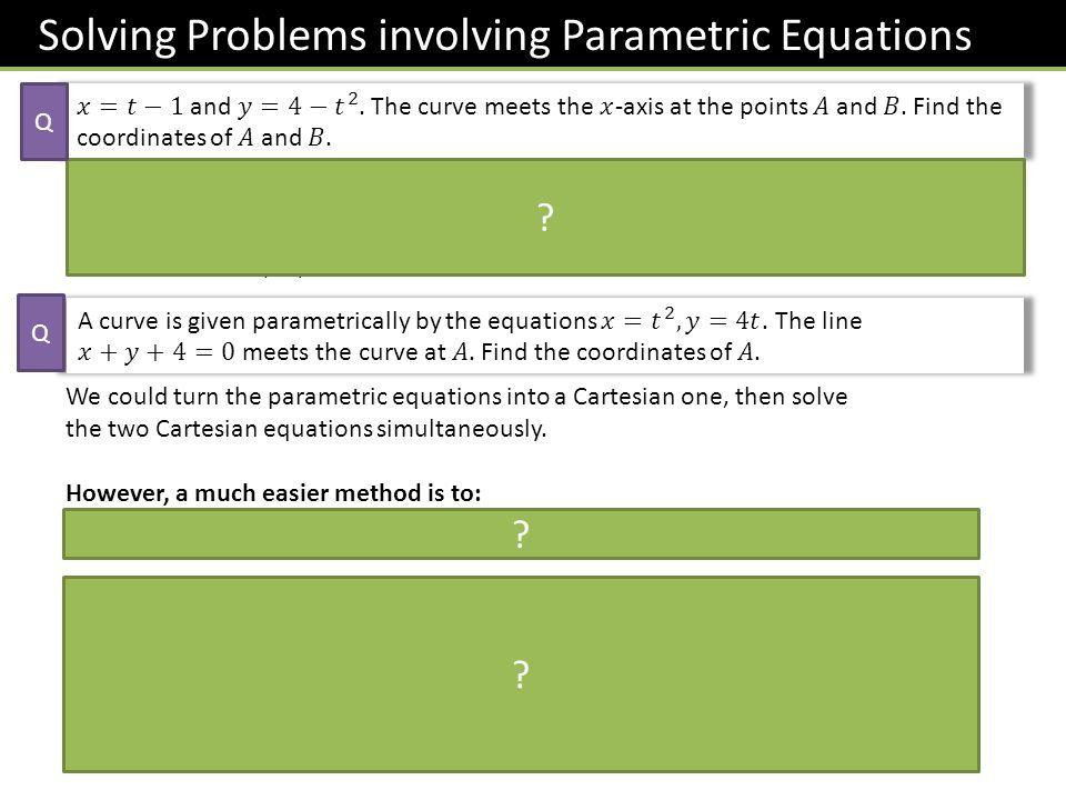 Test Your Understanding C4 Jan 2013 a ? b ?