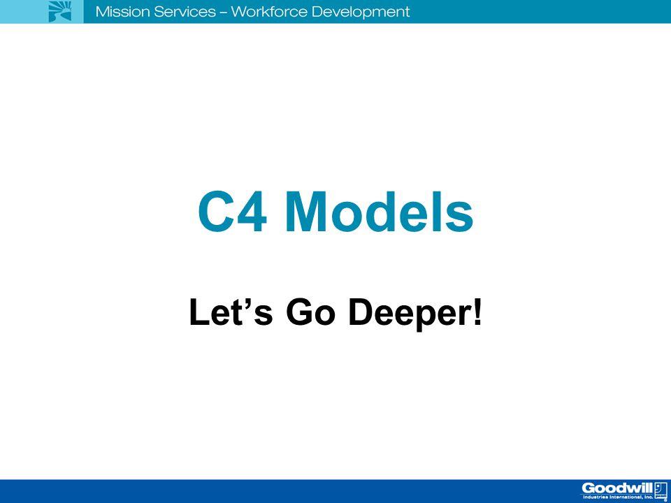 C4 Models Let's Go Deeper!