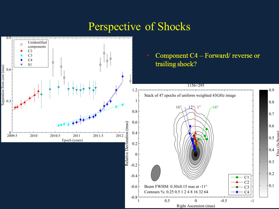 Perspective of Shocks Component C4 – Forward/ reverse or trailing shock?