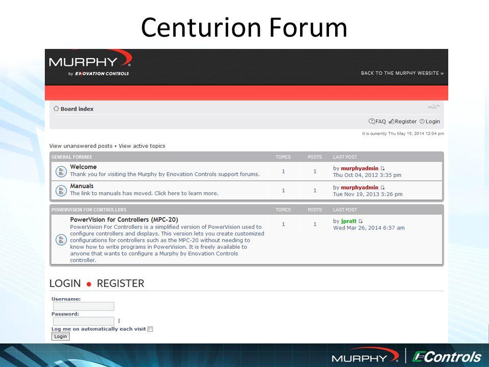 Centurion Forum