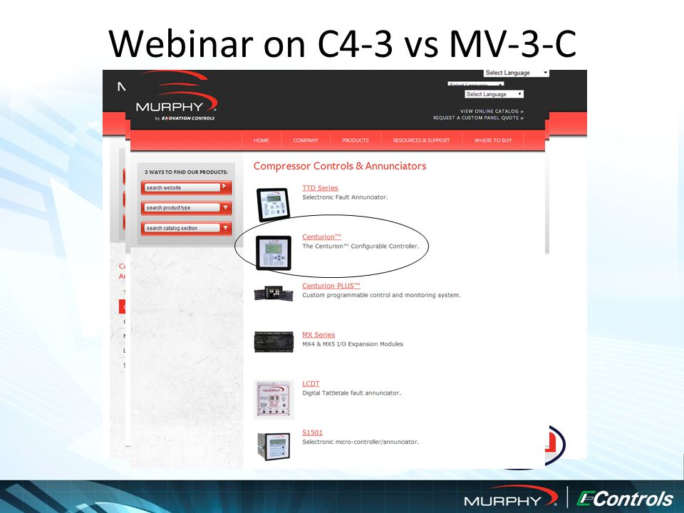 Webinar on C4-3 vs MV-3-C