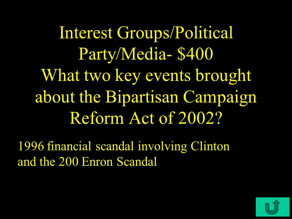 C3-$300 Interest Groups/Political Party/Media- $300 What do PAC'S do.