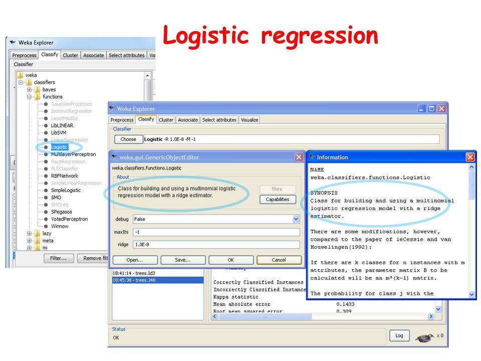 Logistic regression
