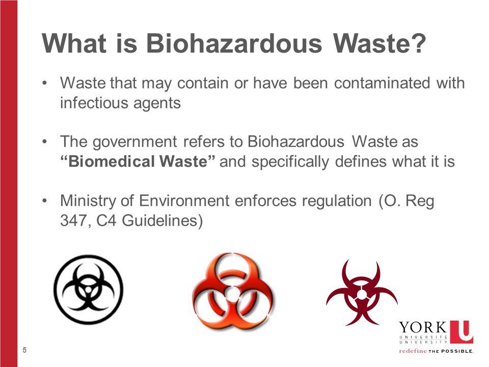 5 What is Biohazardous Waste.