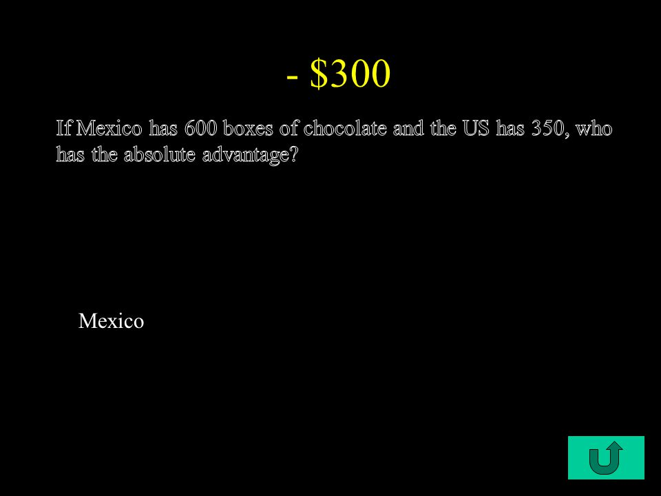 C1-$300 - $300 Mexico