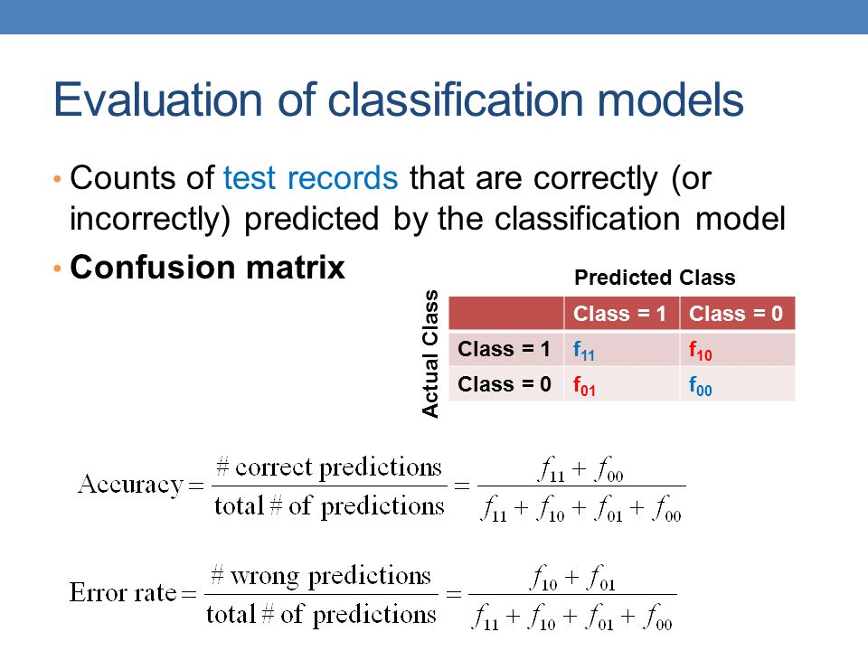 Dealing with class Imbalance If the class we are interested in is very rare, then the classifier will ignore it.