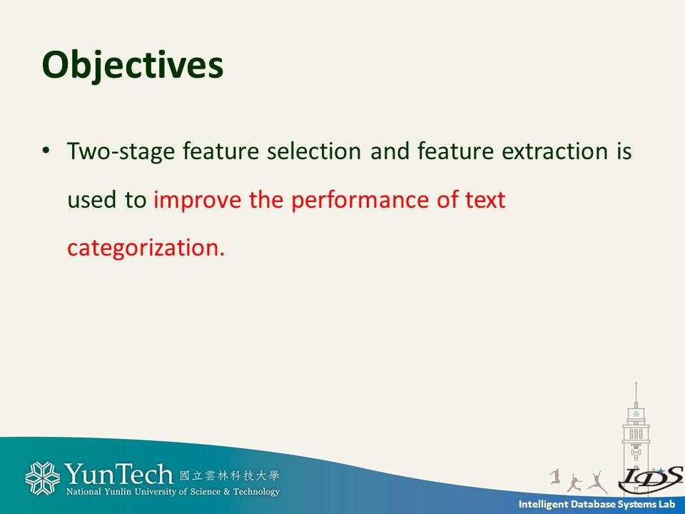 Intelligent Database Systems Lab Methodology