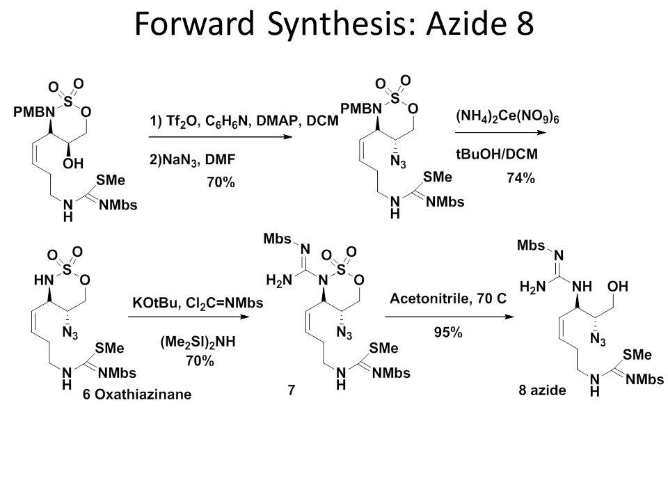 Forward Synthesis: 9-membered ring 10