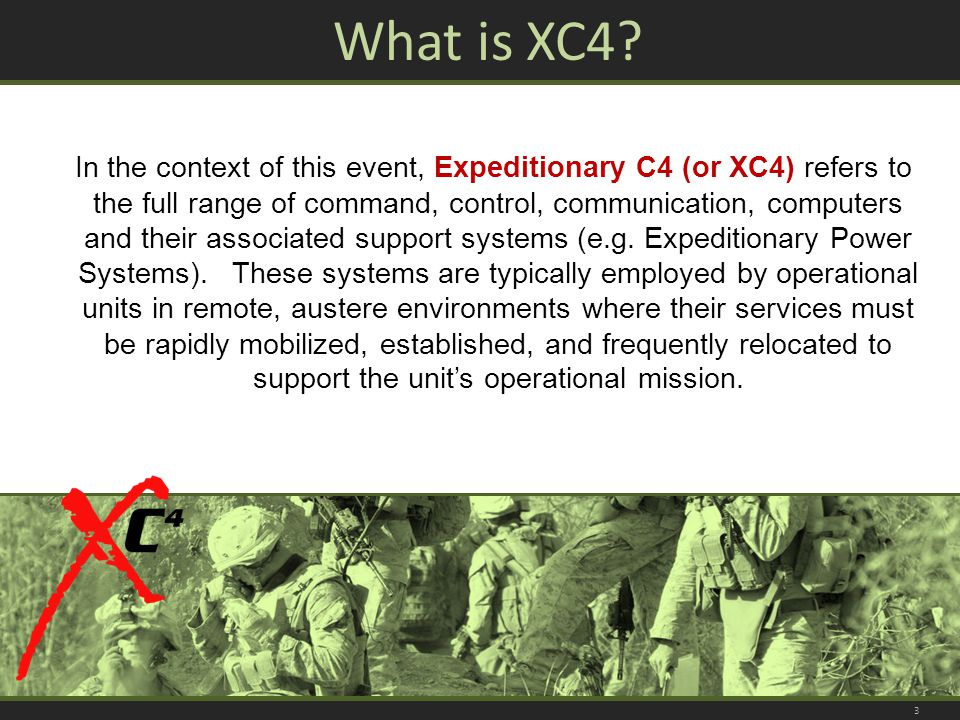 What is XC4.