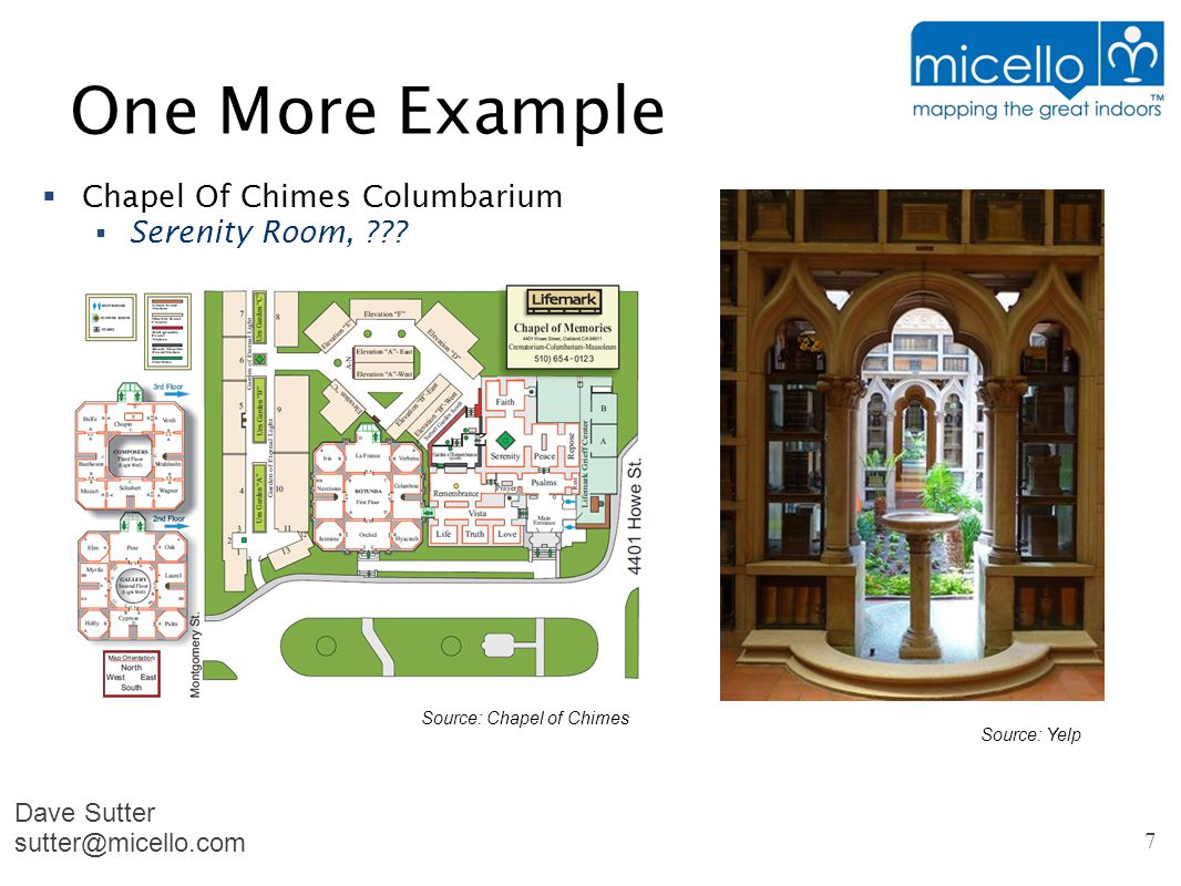 One More Example  Chapel Of Chimes Columbarium  Serenity Room, .