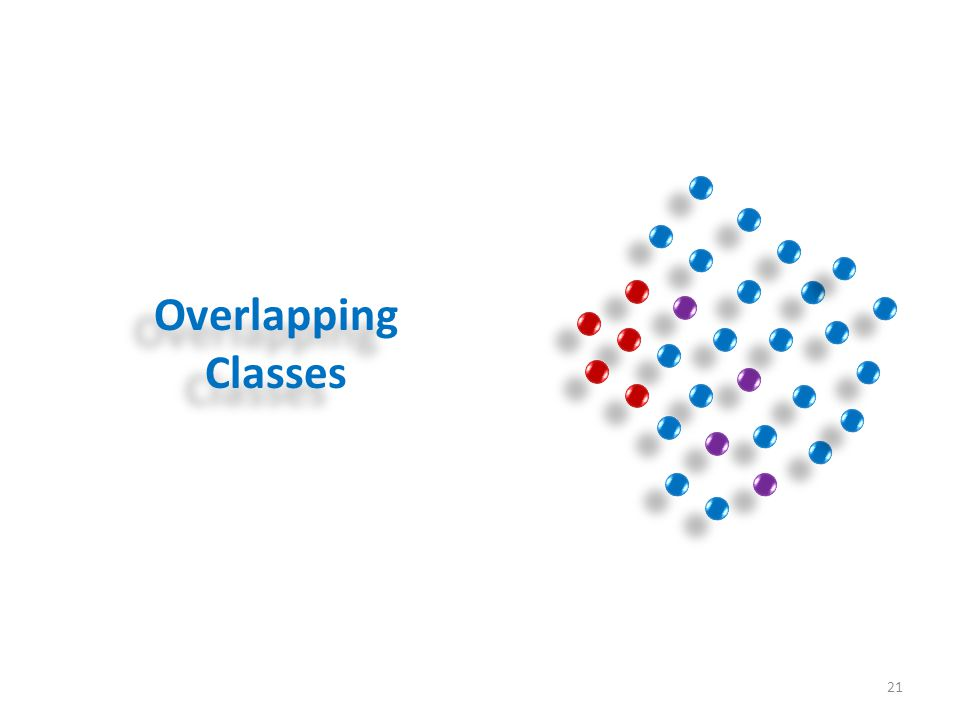 Overlapping Classes 21