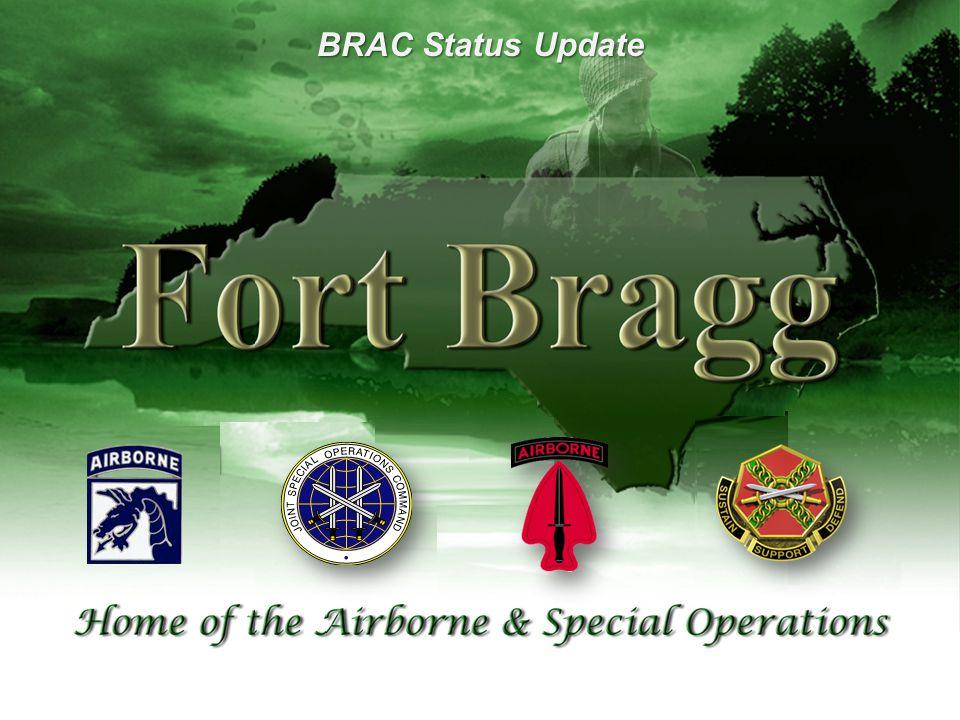 UNCLAS / FOUO Bragg-Pope Service Assumption Timeline 12