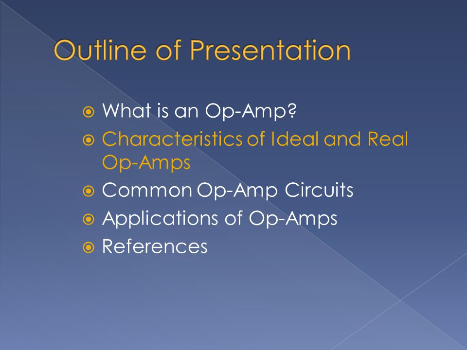  What is an Op-Amp.