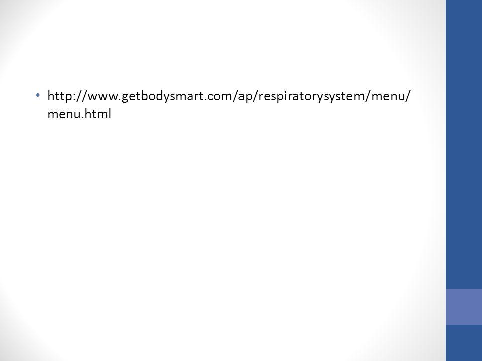 http://www.getbodysmart.com/ap/respiratorysystem/menu/ menu.html