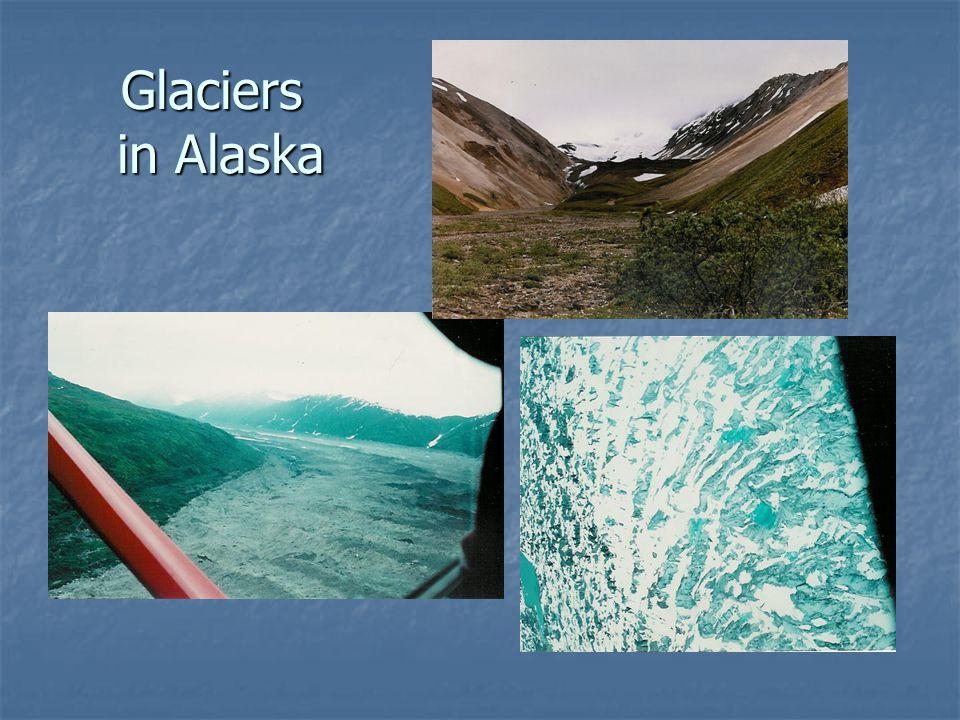 Glaciers in Alaska