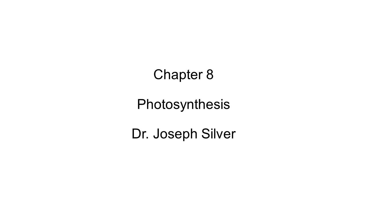 this chapter deals with 1.what is photosynthesis 2.