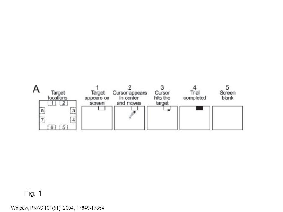 Wolpaw, PNAS 101(51), 2004, 17849-17854 Fig. 1