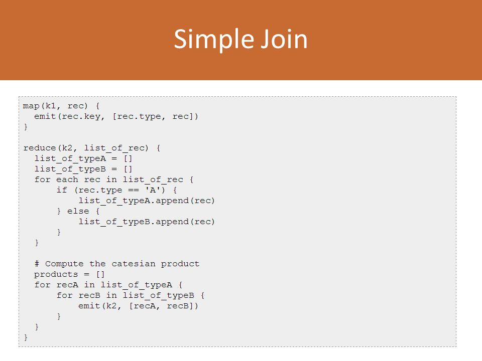Simple Join