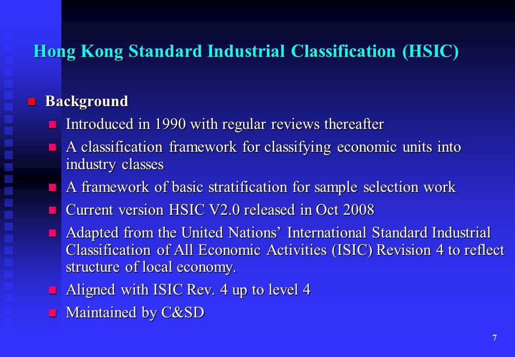 18 CRE - Updating Updating frequency: Quarterly Updating frequency: Quarterly Updating sources - Administrative records from government departments and survey feedbacks: Updating sources - Administrative records from government departments and survey feedbacks: Business Registration Office of Inland Revenue Department Business Registration Office of Inland Revenue Department Lists of schools from Education Bureau Lists of schools from Education Bureau List of welfare institutions from Social Welfare Department List of welfare institutions from Social Welfare Department Taxi and public light data from Transport Department Taxi and public light data from Transport Department Dormant records from Companies Registry Dormant records from Companies Registry Feedback from various surveys of C&SD, such as Quarterly Survey of Employment and Vacancies (SEV) Feedback from various surveys of C&SD, such as Quarterly Survey of Employment and Vacancies (SEV)