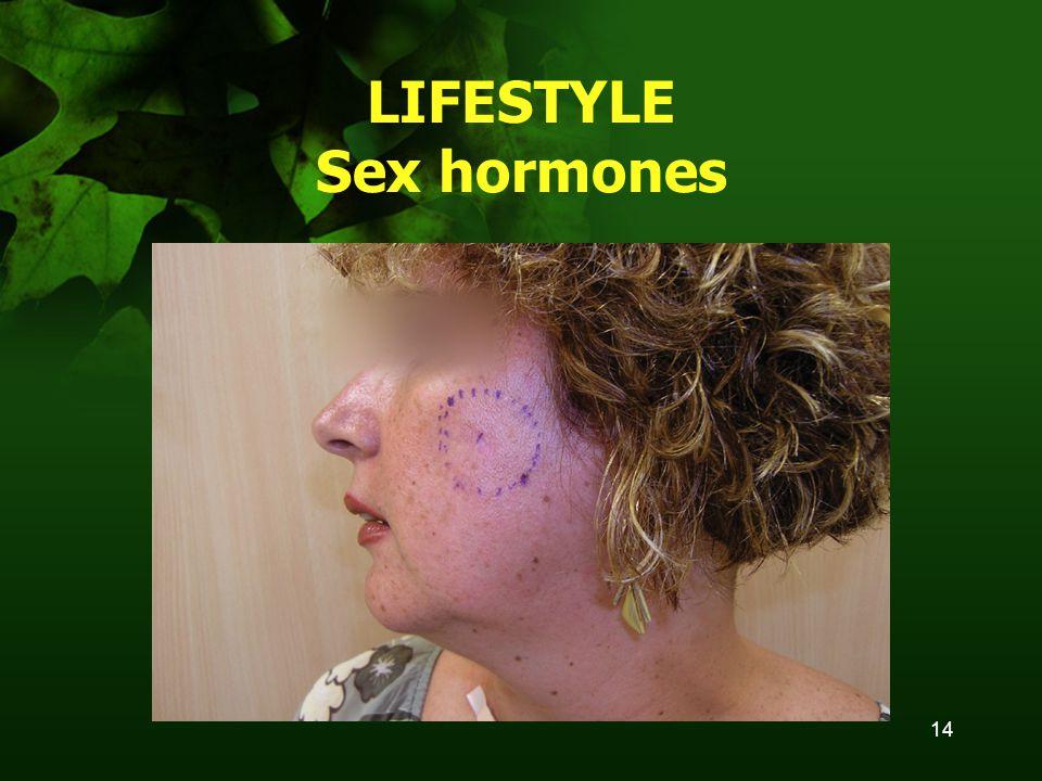 14 LIFESTYLE Sex hormones