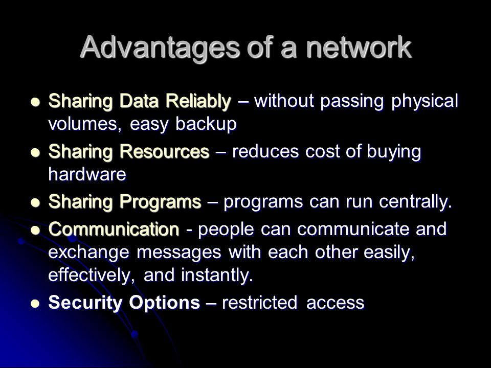 Basics of Ethernet What it is: Currently, Ethernet is a type of wired network that connects computers and other devices.