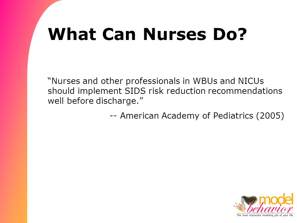 What Can Nurses Do.