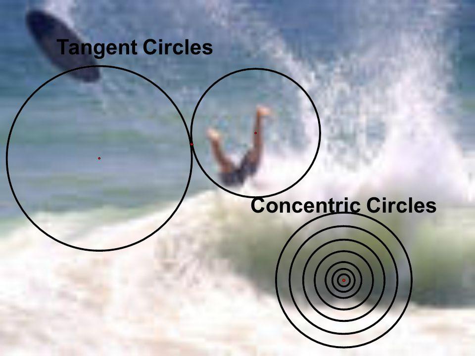 Tangent Circles Concentric Circles
