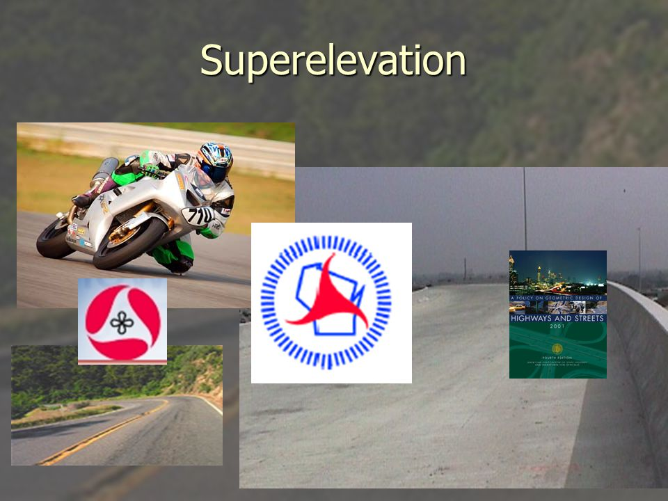 Superelevation Transition ► ► Superelevation transition is the length required to rotate the cross slope of a highway from a normal crowned slope to a fully superelevated cross slope.