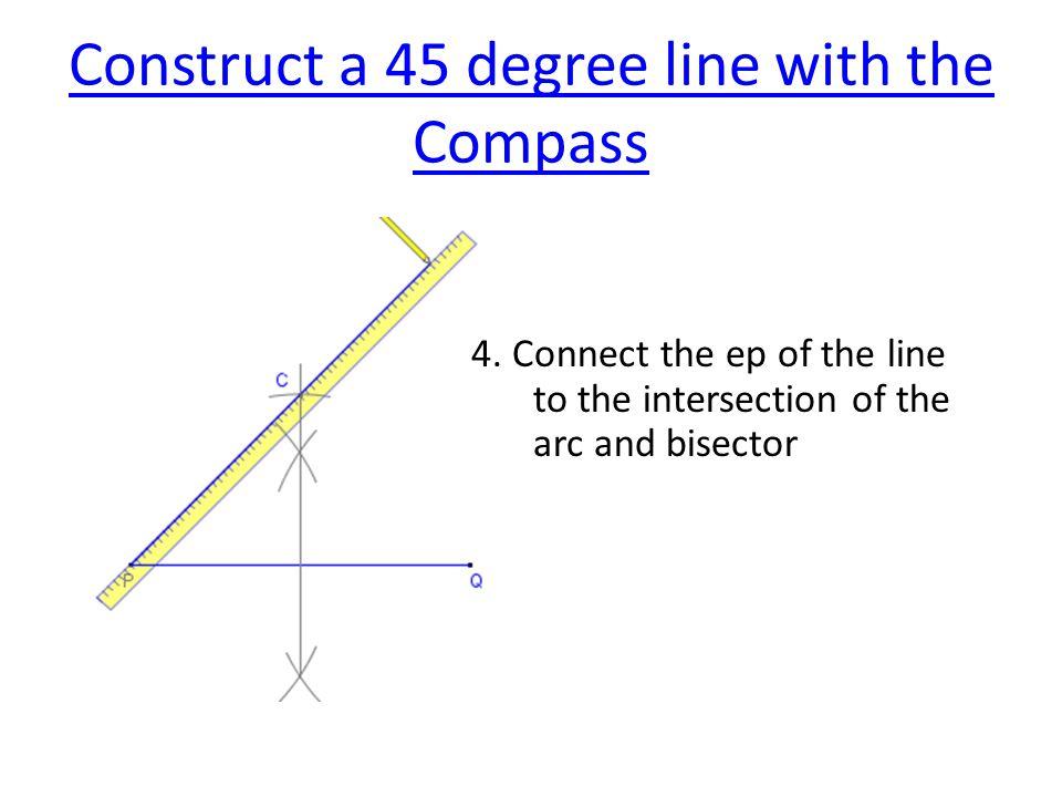 Construct an Arc Tangent to an Arc and a Line 2.2.