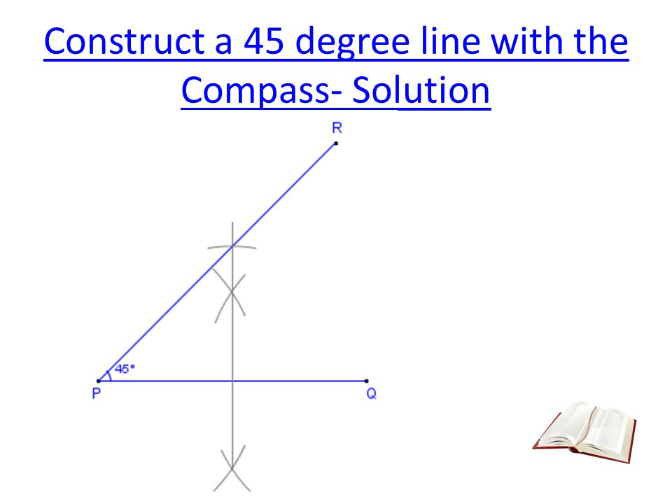 Construct an Arc Tangent to an Arc and a Line 3.