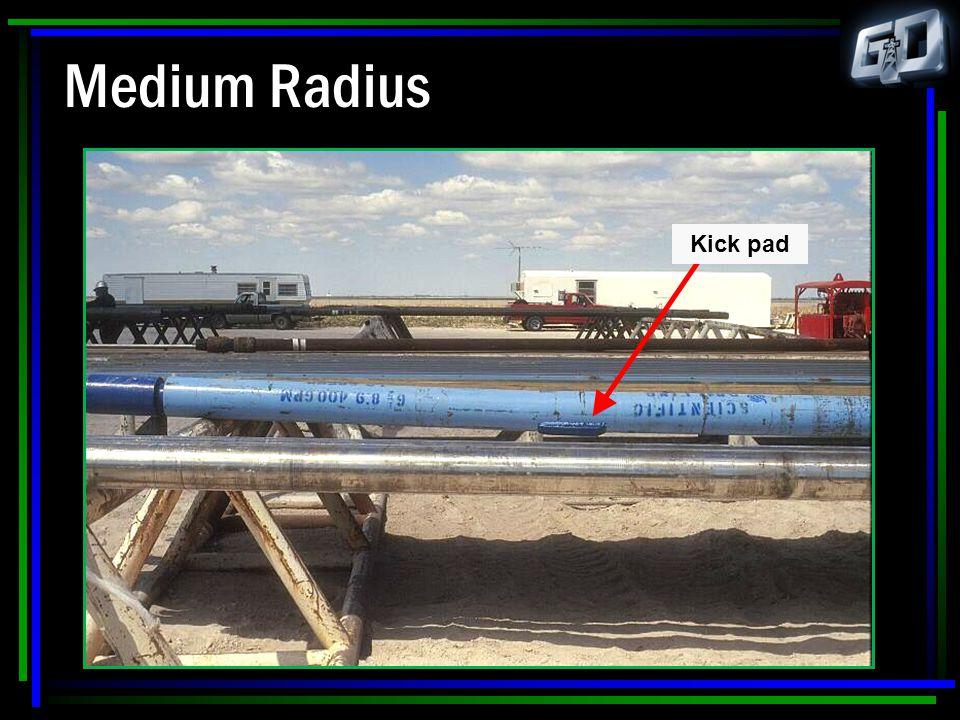 Medium Radius Kick pad