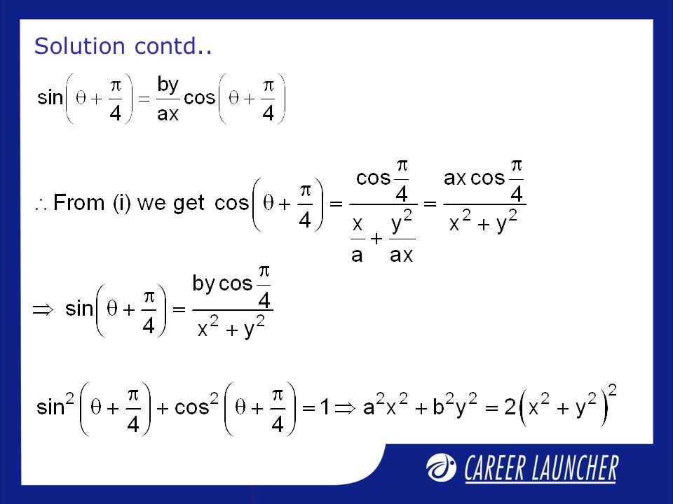 Solution contd..