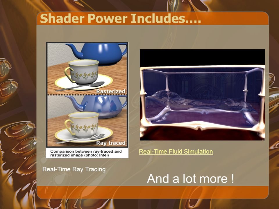 Today ' s Agenda Shader Concept HelloShader Setup Your Shader Basic Data Types Uniform, Attributes, and Varying –http://nehe.gamedev.net/article/glsl_an_ introduction/25007/http://nehe.gamedev.net/article/glsl_an_ introduction/25007/ Examples Q & A