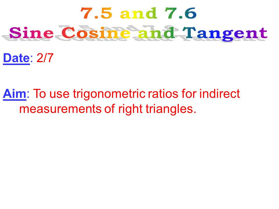 Trigonometry Derived from Greek words, trigonon which means triangle, and metria which means measure.Derived from Greek words, trigonon which means triangle, and metria which means measure.