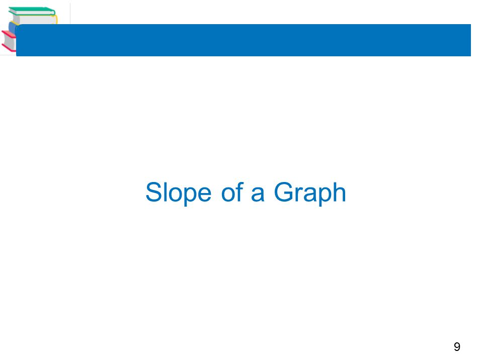 9 Slope of a Graph