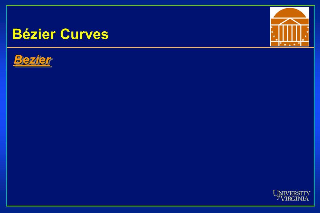 Bézier Curves Bezier