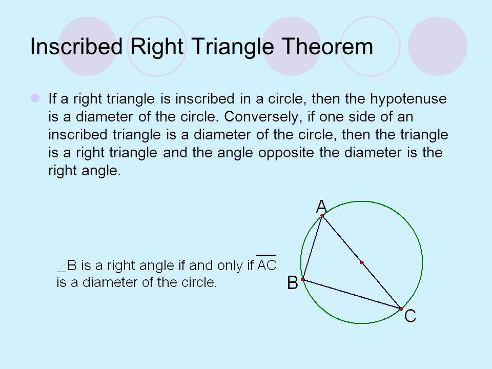 Definitions Inscribed polygon – a polygon whose vertices all lie on a circle. Circumscribed circle – A circle with an inscribed polygon. The polygon i
