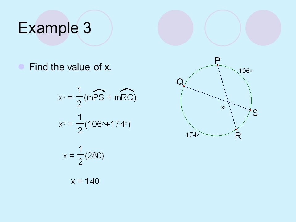 Diagrams for Exterior Intersection Theorem