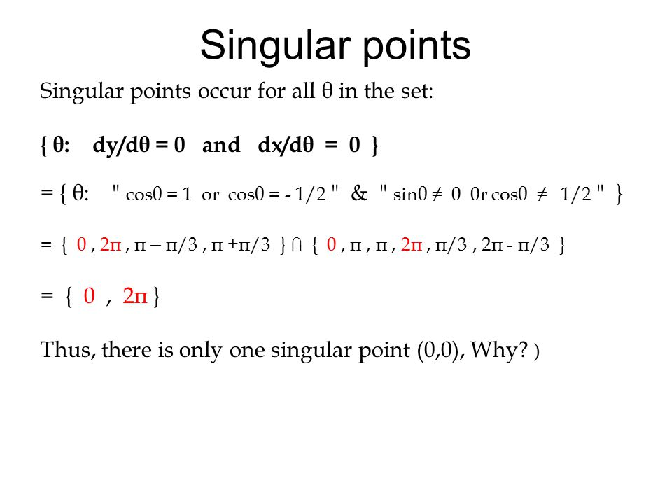 Note on the graph all of the horizontal and vertical tangents